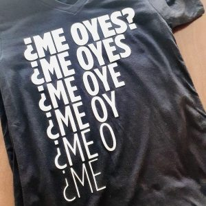 ¿Me oyes? – camiseta